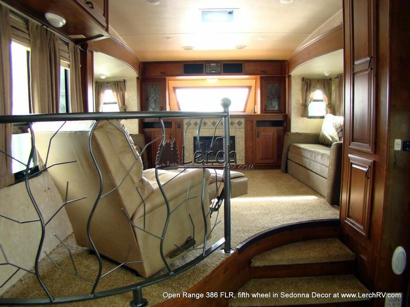 2012 open range 386 flr front living room 5th wheel - Front living room fifth wheel used ...