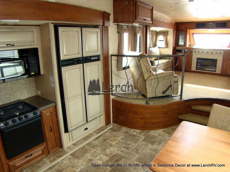 2012 Open Range 386 FLR front living room 5th wheel Lerch RV