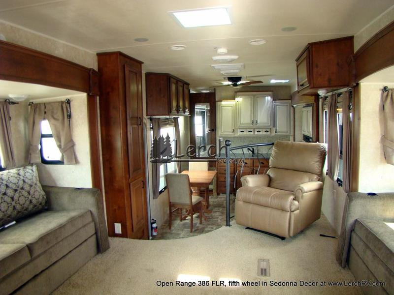 2012 Open Range 386 FLR Front Living Room 5th Wheel Lerch RV Sales And Se