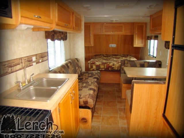 2009 Forest River Cherokee Grey Wolf 24rb Travel Trailer