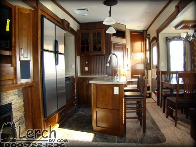 2013 Keystone Alpine 3720fb Front Bath Fifth Wheel Camper