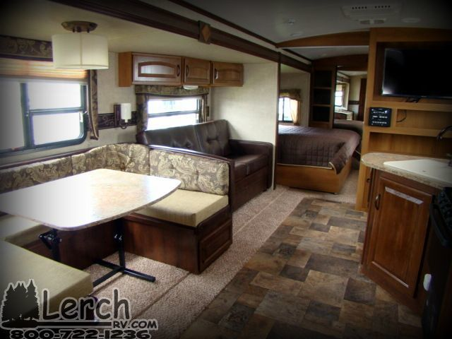 Huge Rear Bathroom 2013 Outback 300rb New Travel Trailer