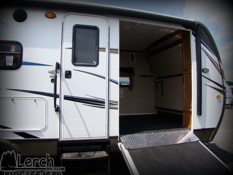 2014 outback 230rs light weight toy hauler travel trailer