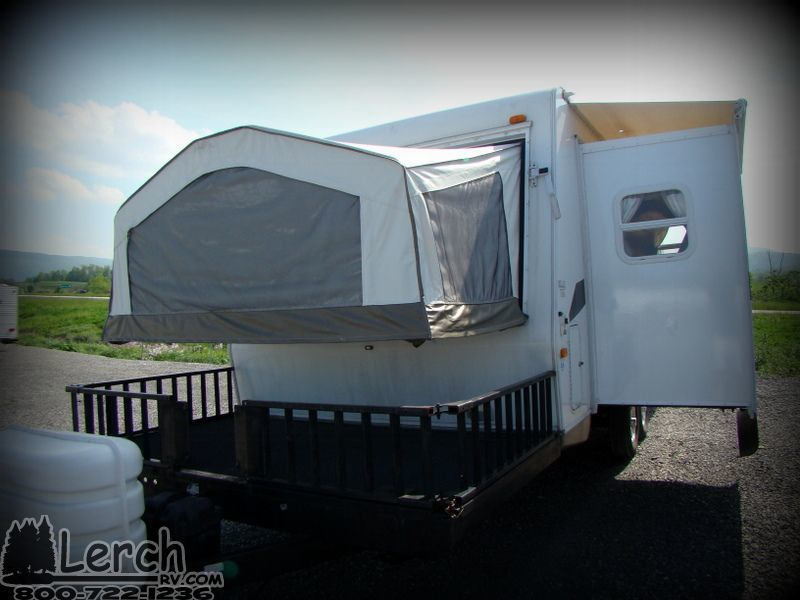 Roo Travel Trailer With Deck