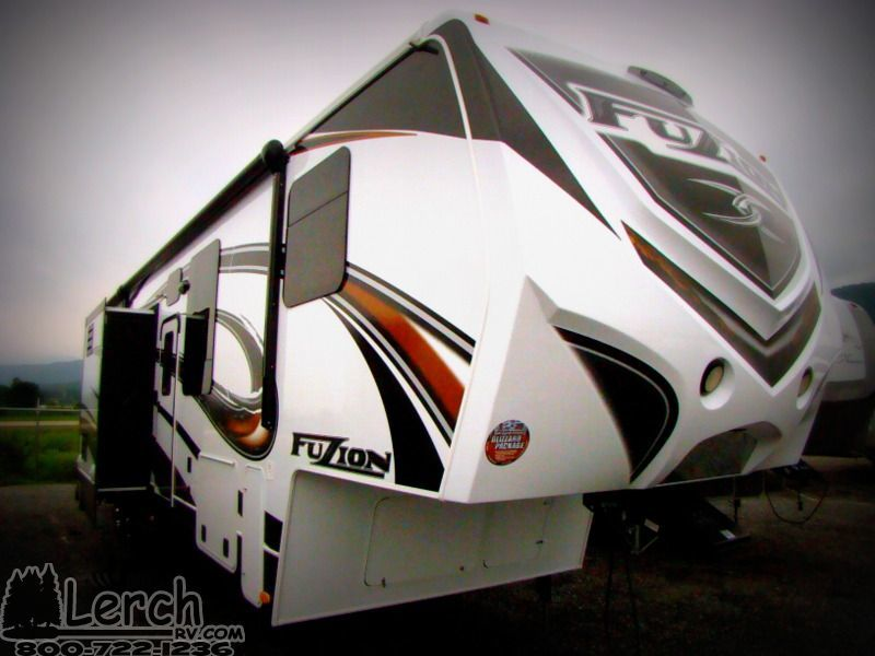 New 2014 Keystone Fuzion 331 Fifth Wheel Toy Hauler Rv 11