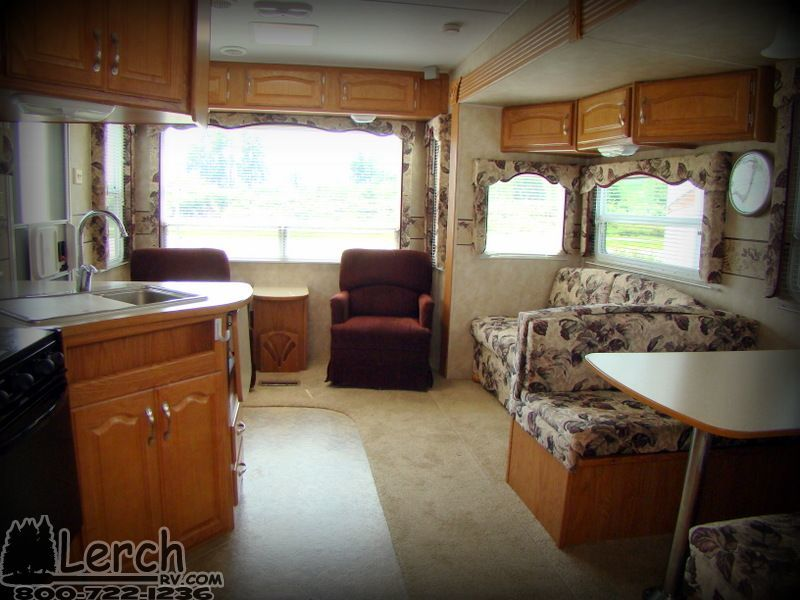 Used 2006 Copper Canyon 252rls Fifth Wheel Camper Rv For