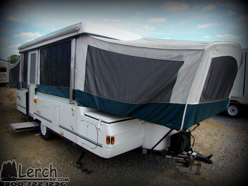 Used 2001 Coleman Niagara Elite pop up camper-folding tent trailer