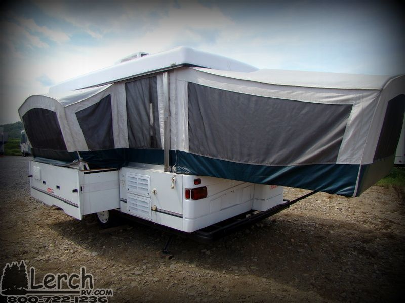 Used 2001 Coleman Niagara Elite Pop Up Camper Folding Tent