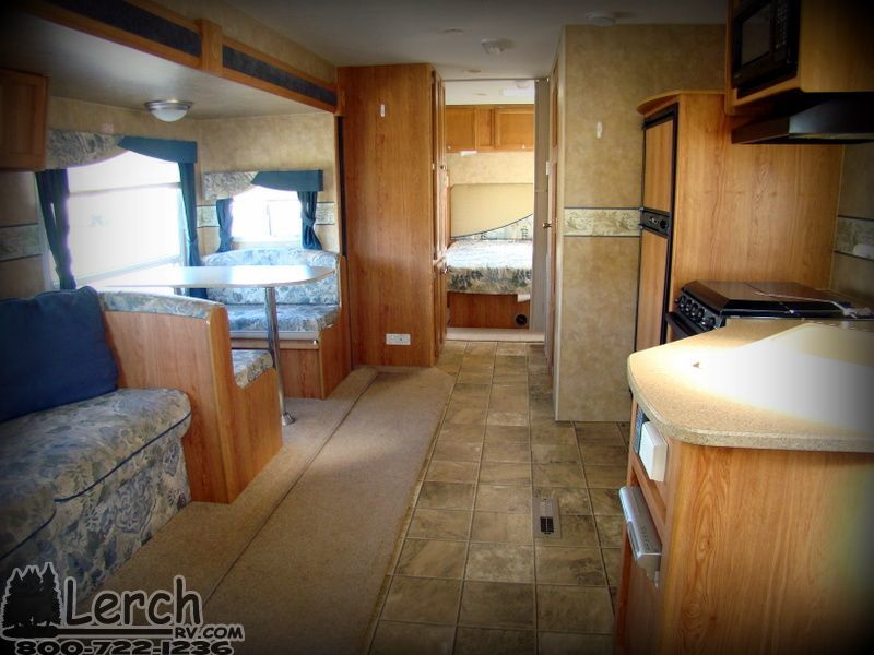 2007 Jayco Jay Feather 30u Light Weight Quad Bunk Travel