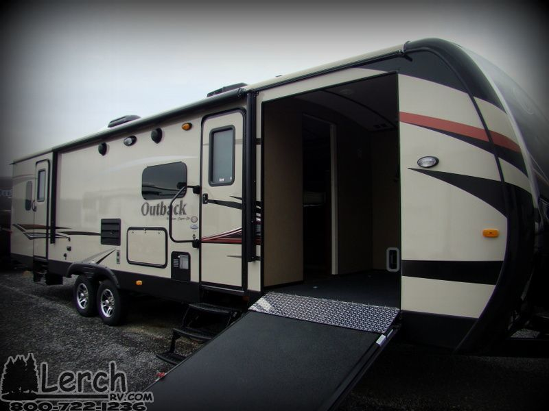 2014 keystone outback 310tb toy hauler travel trailer rv for sale in