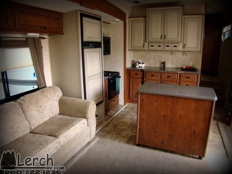 2012 Open Range 345rls With Patio Deck Used Fifth Wheel