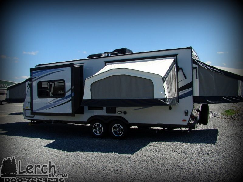 SolAire 213X expandable hybrid travel trailer-lightweight ...