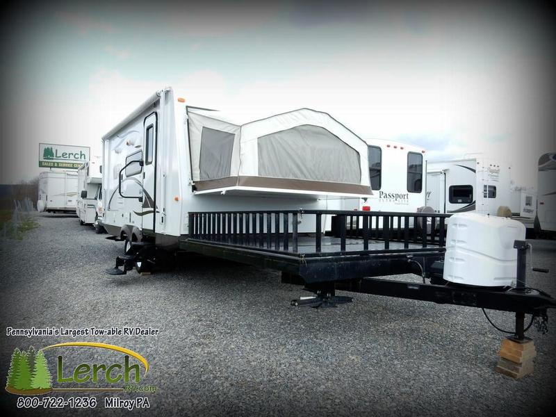 2014 Rockwood Roo 21ssl With 8x8 Front Deck Storage For