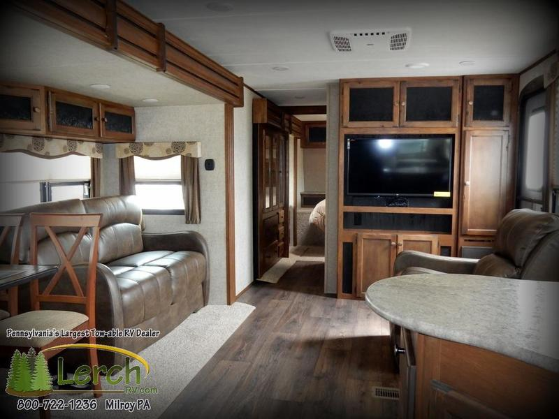 2016 Sprinter 295RKS Travel Trailer RV For Sale Rear Kitchen Keystone RV |  Lerch RV   RV Buying Made Easy | ATVingPA.com