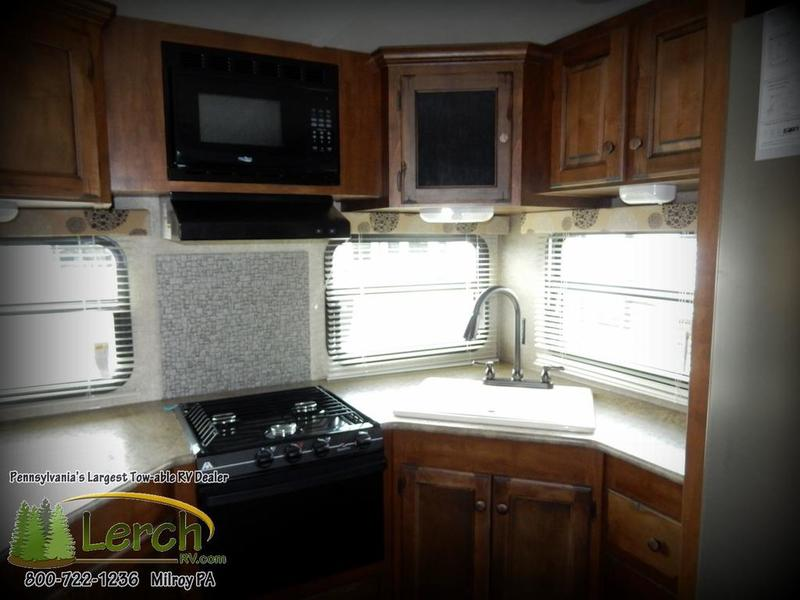 2016 Sprinter 295rks Rear Kitchen Travel Trailer With