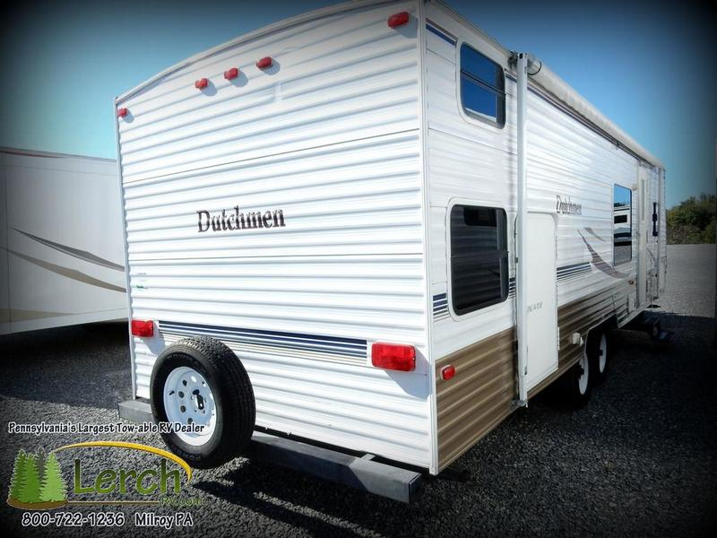 2007 Dutchmen Lite 29QGS quad bunk travel trailer-used RV
